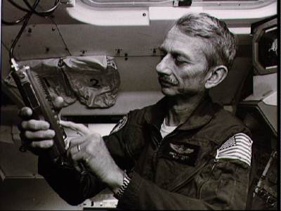 Owen Garriott aboard Spacelab-1