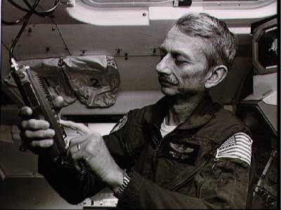 Owen Garriott aboard Spacelab-1