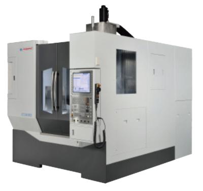 A 5-axis CNC VMC (photo courtesy of Bridgeport)