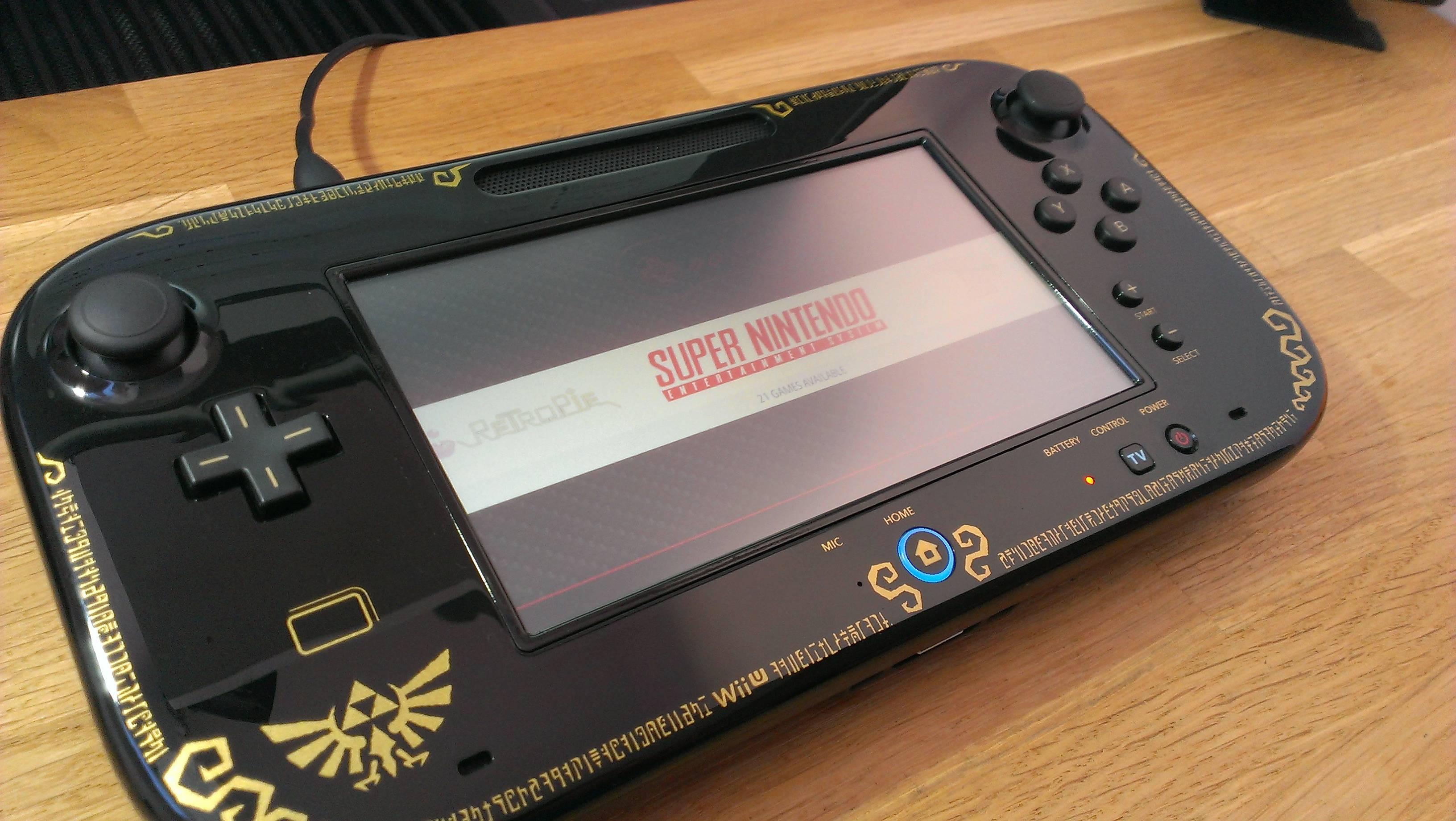 Wii U RetroPie Console Looks Gorgeous | Hackaday