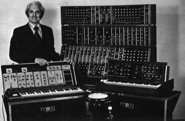 [Bob Moog, K2AMH]. PD, via Wikimedia Commons.