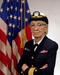 Commodore Grace M. Hopper, USN (covered).