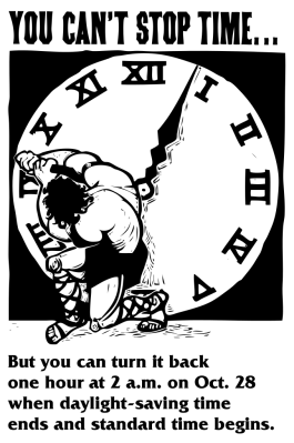 Turning back to standard time
