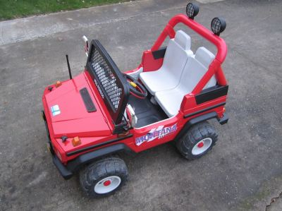 Restored Power Wheels