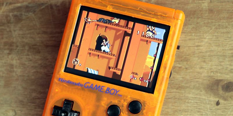 Pi Zero Transforms to Game Boy