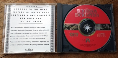 Hutchinson Encyclopedia, CDTV edition.
