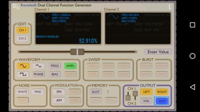 The Keuwlsoft function generator.