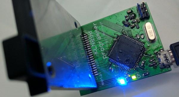 KLN89B GPS data card reader/writer