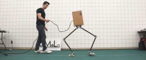 NABiRoS sideways walking robot
