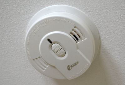 Most modern smoke detectors are wired to mains or have a sealed 10-year battery