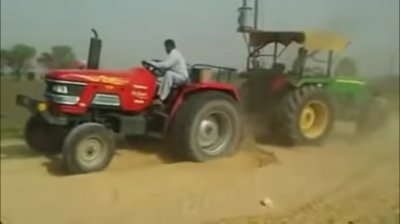 Tractor versus Tractor; a guilty pleasure but not Retrotechtacular