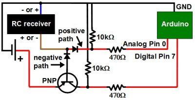 Using a transistor