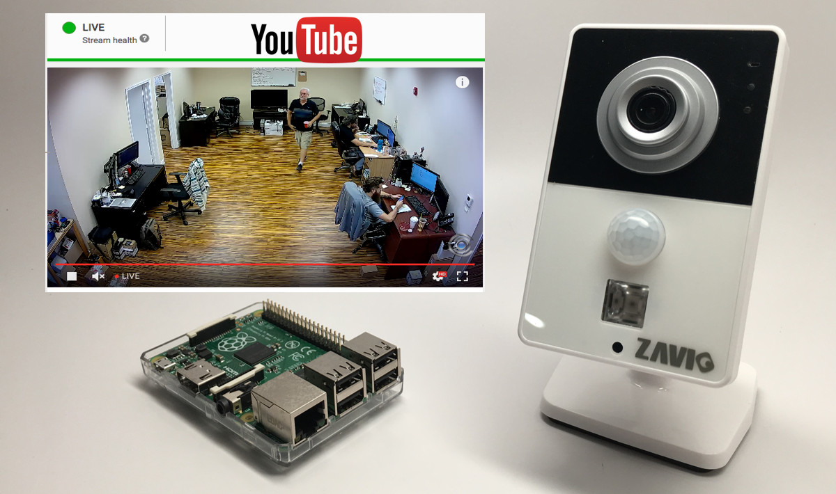 Low-cost Video Streaming With A Webcam And Raspberry Pi | Hackaday