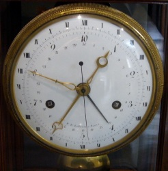 French decimal time clock
