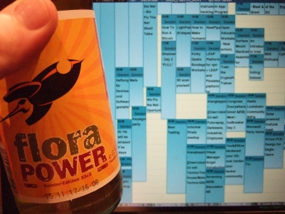 The Sessions Schedule (and Commemorative Mate Bottle)