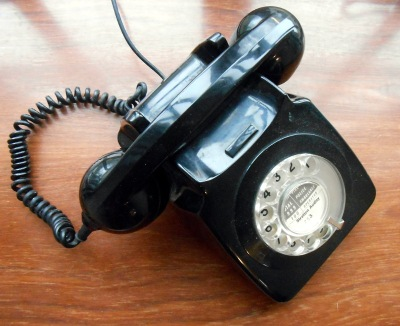 You can have any phone you want, as long as it's state-owned! A GPO 746 telephone from the early 1970s.