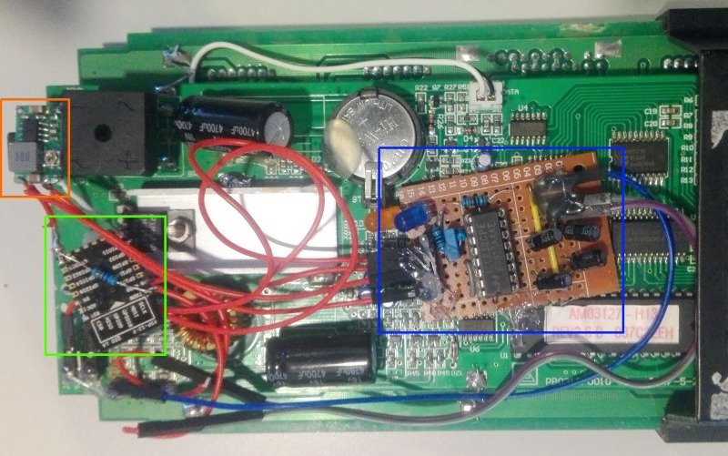 IoT-ifying An Old LED Signboard | Hackaday