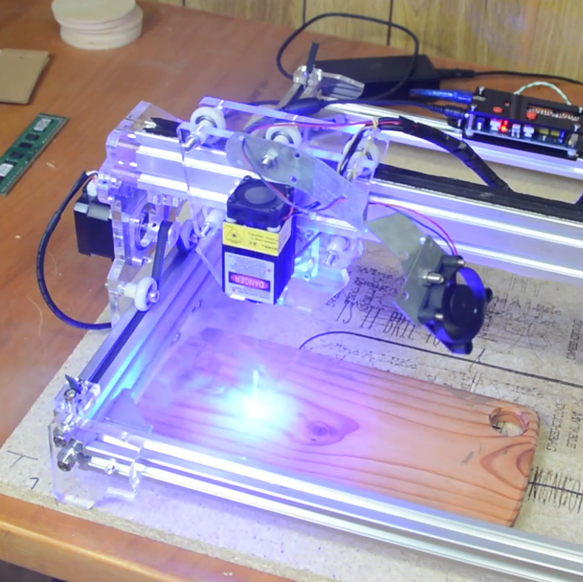 Convert That Cheap Laser Engraver To 100% Open-Source Toolchain