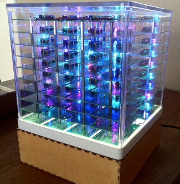 80-PIC32 Cluster Does Fractals | Hackaday