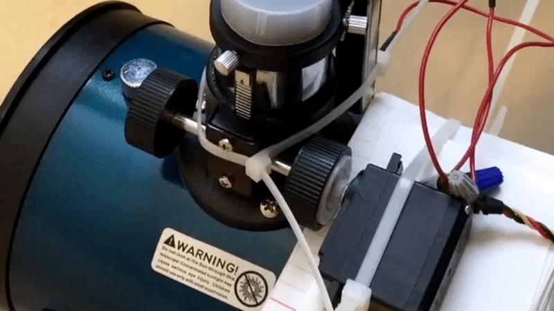 Modified Servo Adds Focus Control To Telescope | Hackaday