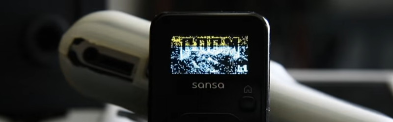 Sansa MP3 Player Runs Doom Unplayably | Hackaday