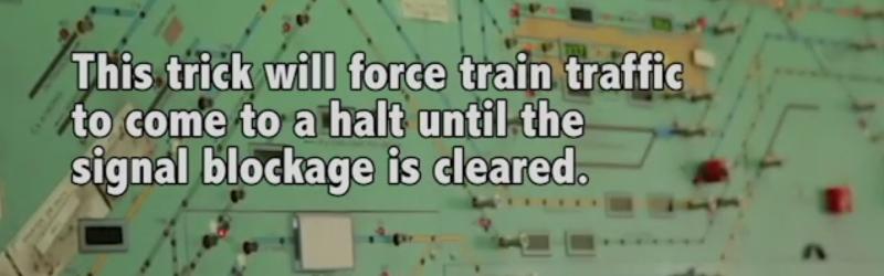 Jumper Cables Block Trains   Hackaday