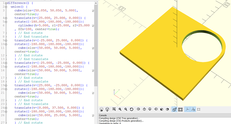 Ditch OpenSCAD For C++ | Hackaday