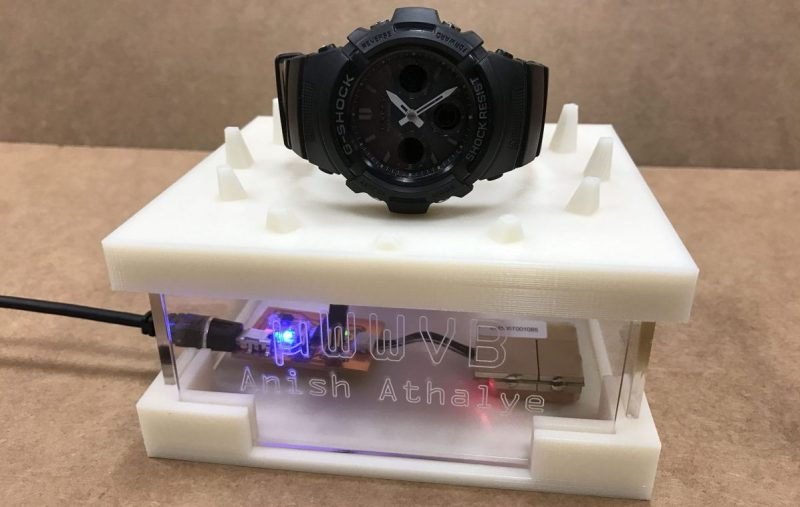 Micro Radio Time Station Keeps Watch In Sync | Hackaday