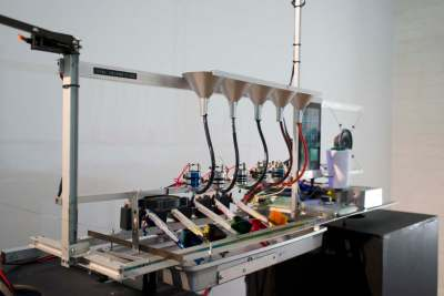 Teleknitting Dyeing Machine View