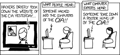 XKCD 932 says it all. (CC BY-NC 2.5)