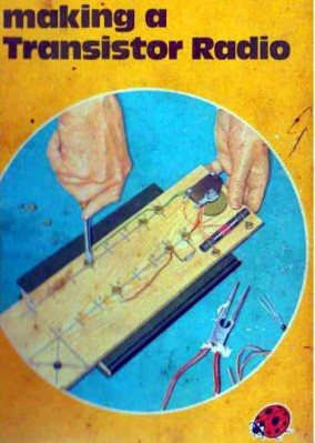 Making A Transistor Radio, 2nd edition cover. Fair use, via Internet Archive.