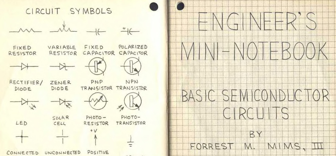 forrest mims, radio shack, and the notebooks that launched aSymbols Electronic Circuits Smis Grade 7 Science Circuit Board #11
