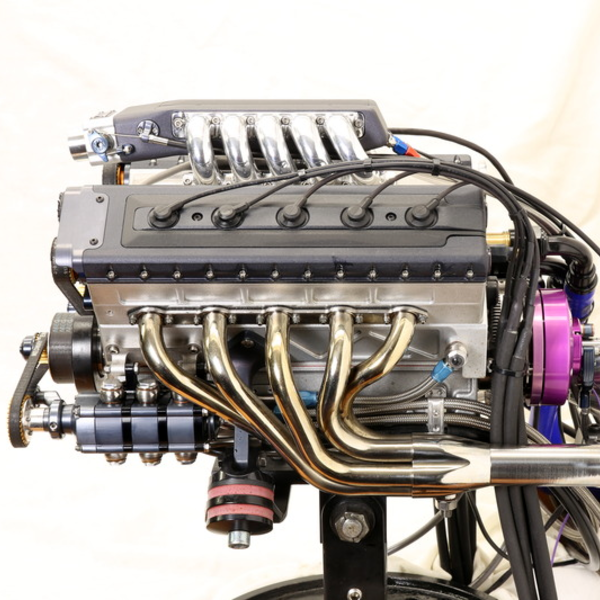 Supercharged, Fuel Injected V10 Engine, At 1/3 Scale | Hackaday