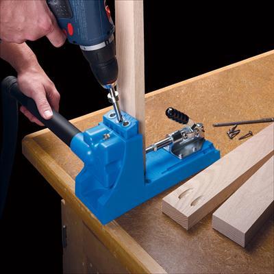 Kreg pocket-hole jig. Source: Kreg Tools