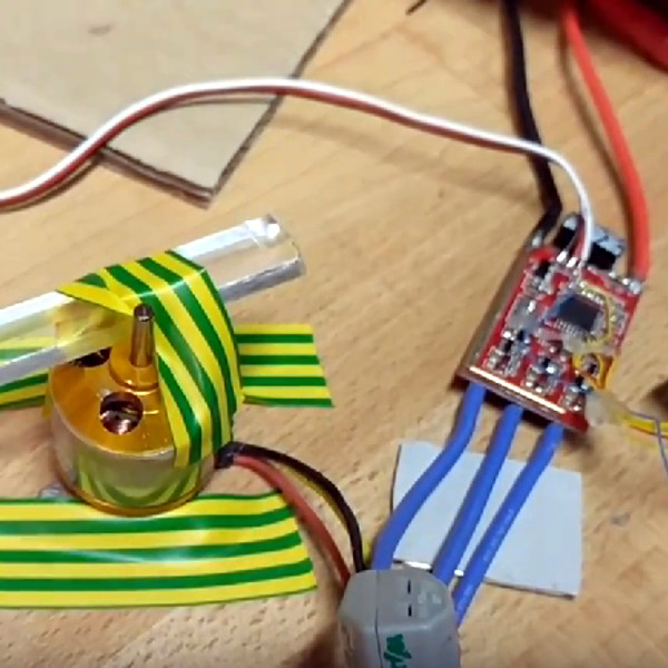 Use A Brushless Motor As A Rotary Encoder | Hackaday