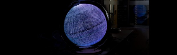 Persistence of vision Death Star