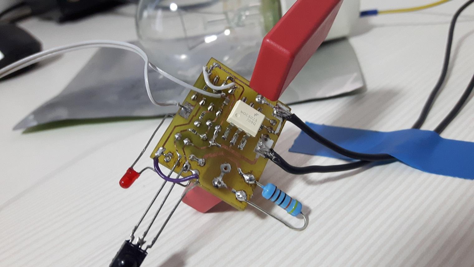 Led Flasher Circuit 180 Led 555 Led Strobe Simple Led Stroboscope