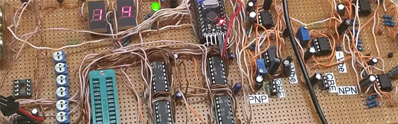 a mess of wires turned into an analog synth hackadayCircuit Picture Sorry About The Messy Wiring #20