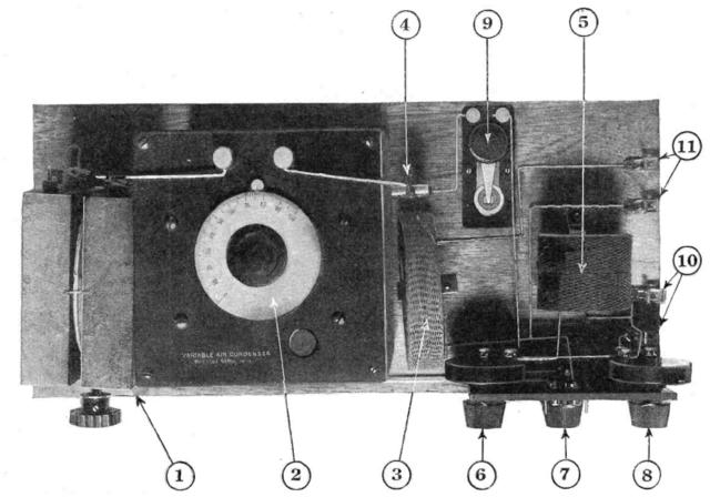 An oscillator built to [Losev]'s zincite negative resistance diode design.