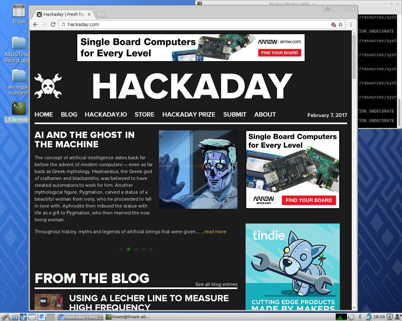 Review: The Asus Tinker Board (Updated)   Hackaday