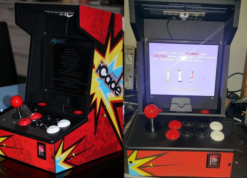 IPad Tossed Out For RetroPie Arcade Cabinet Redux | Hackaday