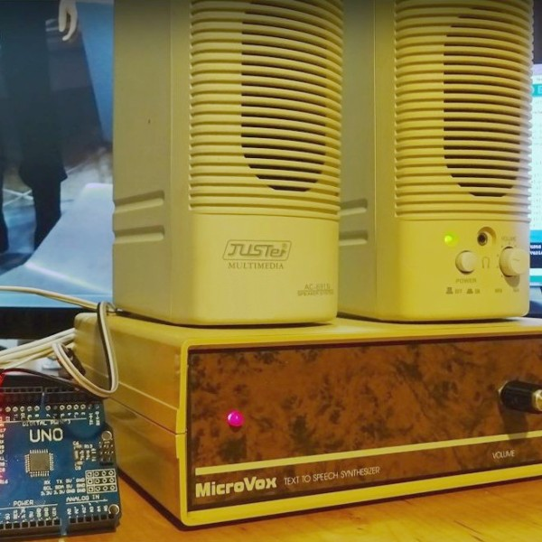MicroVox Puts The 80's Back Into Your Computer's Voice | Hackaday
