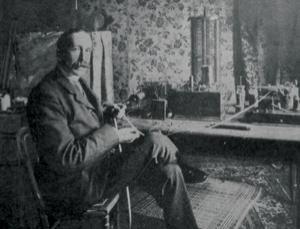 Nevil Maskelyne, circa 1903. Wikipedia.