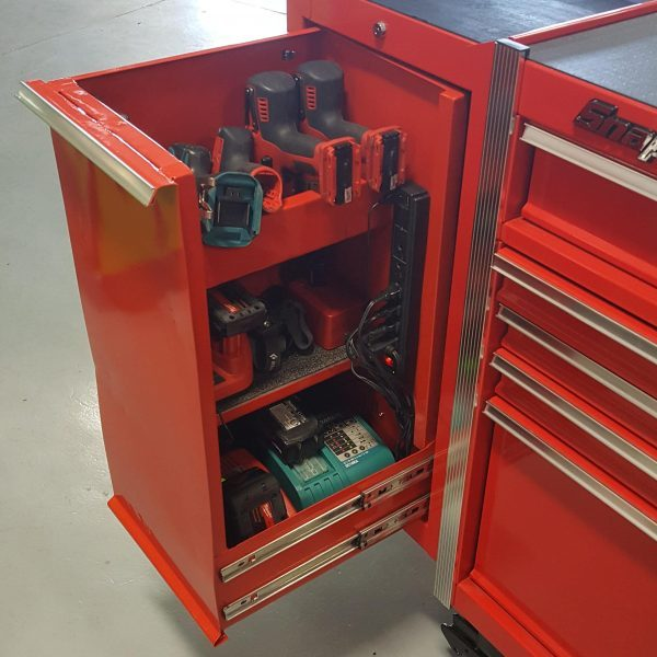 Metalworking Hacks Add Functionality To Snap-On Tool Chest
