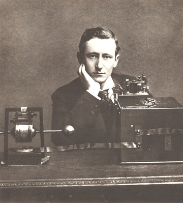 Scientific Identity, Portrait of Guglielmo Marconi. Smithsonian Institution