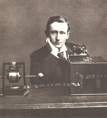 Scientific Identity, Portrait of Guglielmo Marconi. Smithsonian Institution