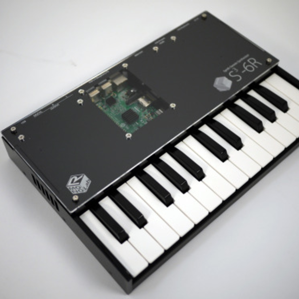 A Six-Voice Synth Built On The Raspberry Pi | Hackaday