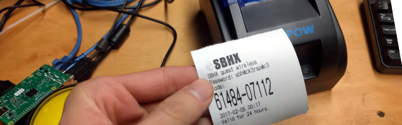 Press Button, Receive Hackspace WiFi Code | Hackaday