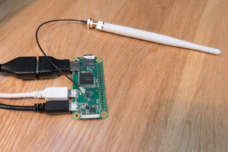 Adding An External Antenna To The Raspberry Pi Zero W | aday on