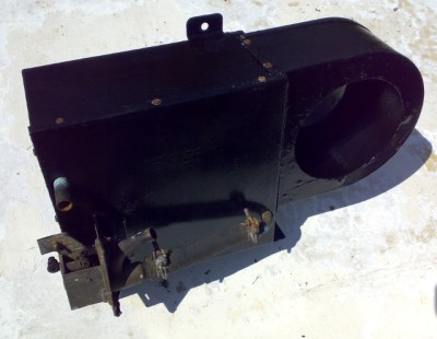 A Herald heater unit, without its fan assembly.